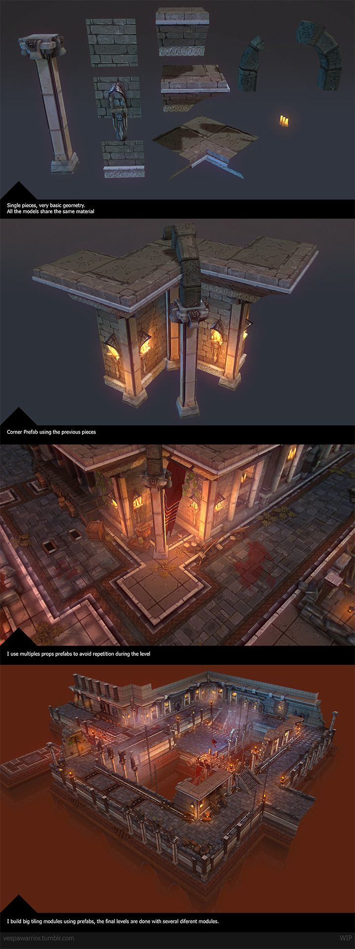 Unity Asset D Hand Painted Dungeon Tileset