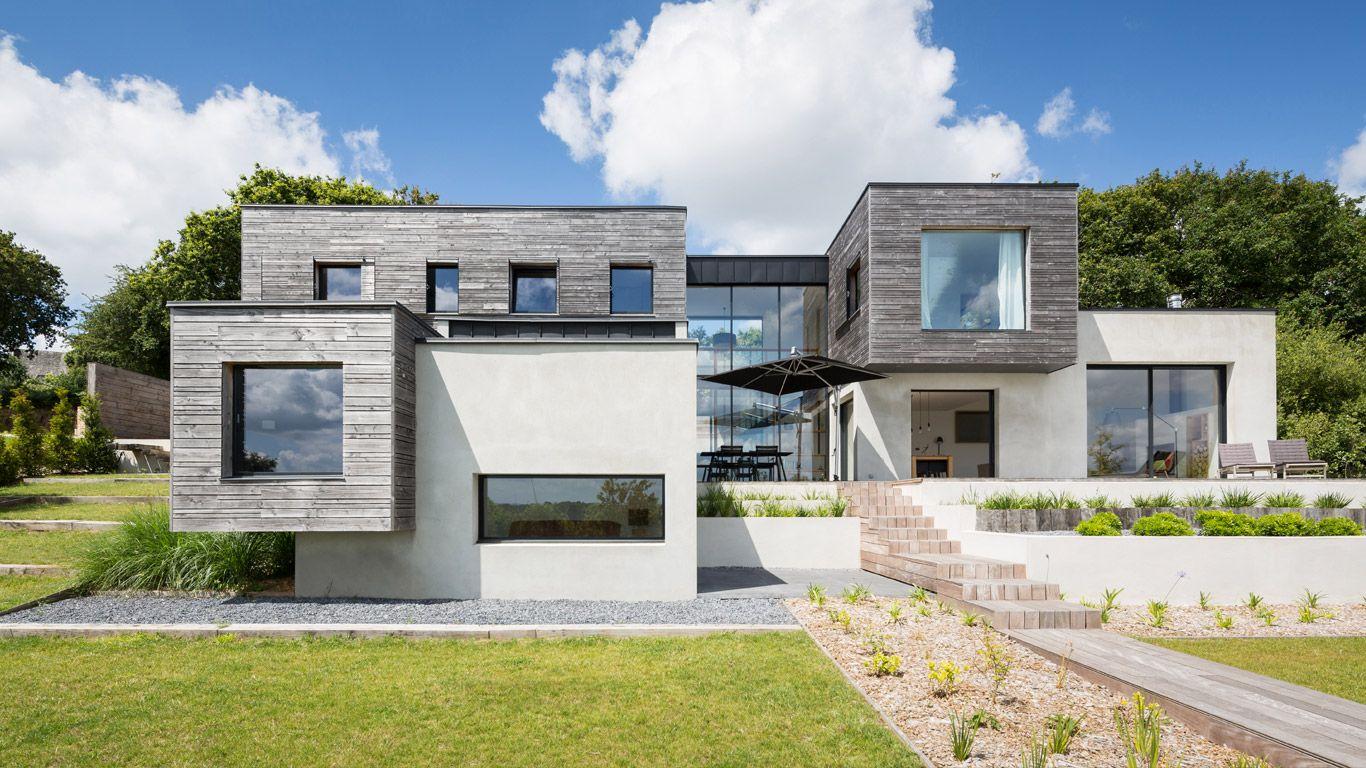 crayons des jardins paysagiste jean luc h ry architecte chez famille guillaume plougastel. Black Bedroom Furniture Sets. Home Design Ideas
