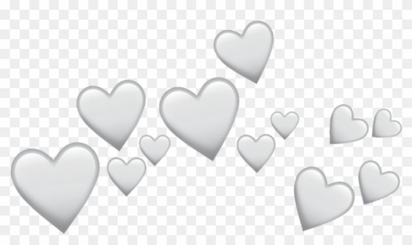 Find Hd Grey Heart Hearts Crown Icon Overlay Tumblr Png Black Heart Transparent Png Is Free Png Image Download And U Overlays Tumblr Tumblr Png Heart Crown