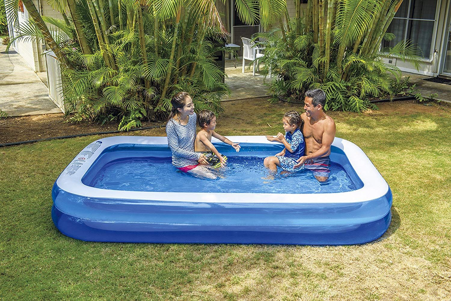 Top 10 Best Inflatable Pools In 2021 Reviews Hqreview Kiddie Pool Inflatable Pool Children Swimming Pool