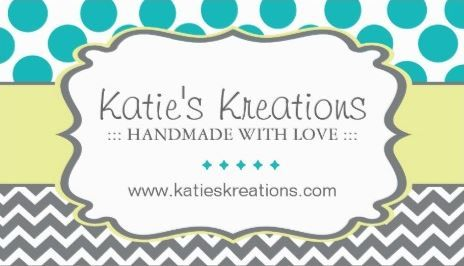 Whimsical chevron and dots handmade crafts boutique business cards colourmoves