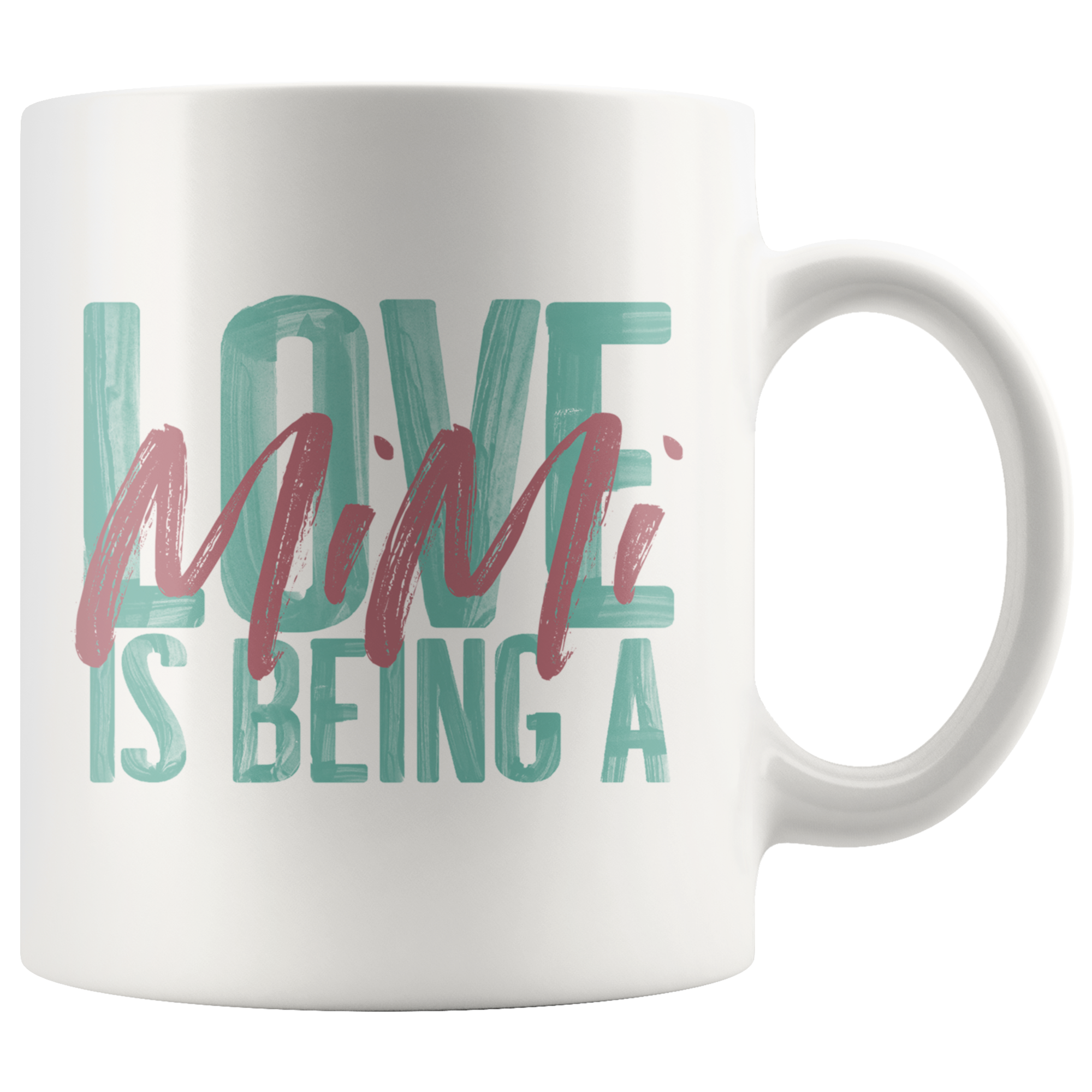 Love is being a Mimi 11 oz White Coffee Mug Mugs, White