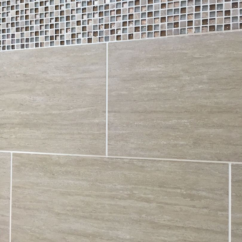Image result for porcelain wall tiles beige | Bath Flat | Pinterest ...