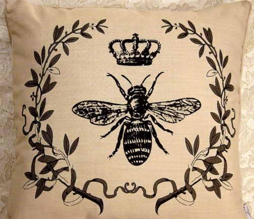 Throw Pillow Napoleon Bee Crown French Market 18 Quot Chic