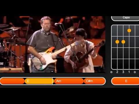 while my guitar gently weeps +chords - YouTube | Guitar lessons ...