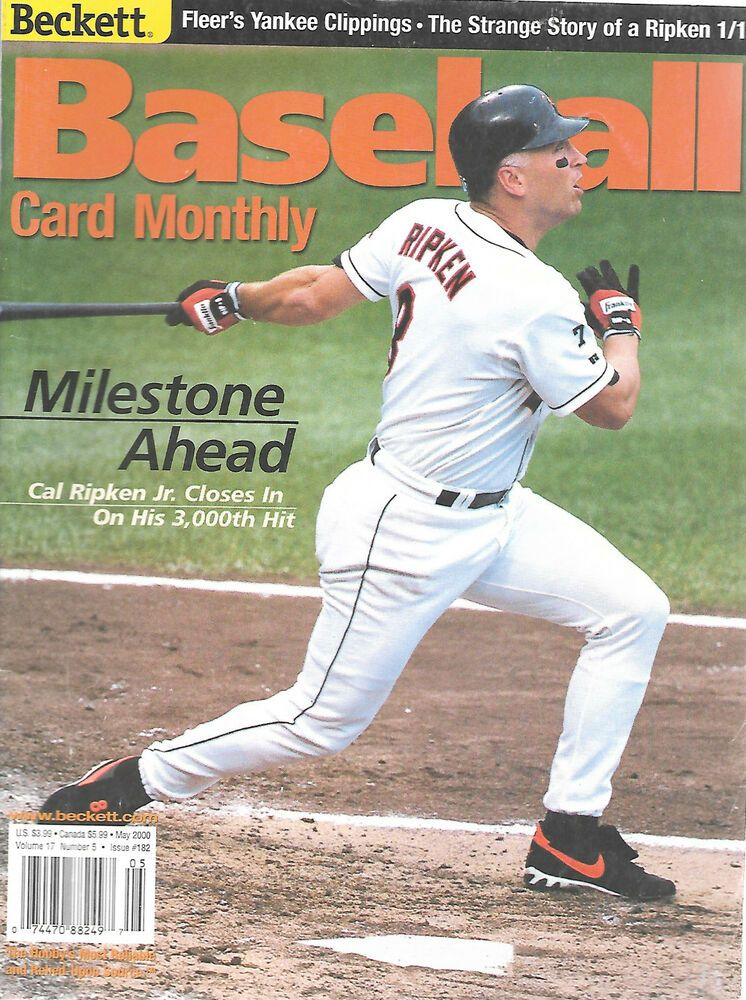 Details about Beckett Baseball Monthly Magazine May 2000