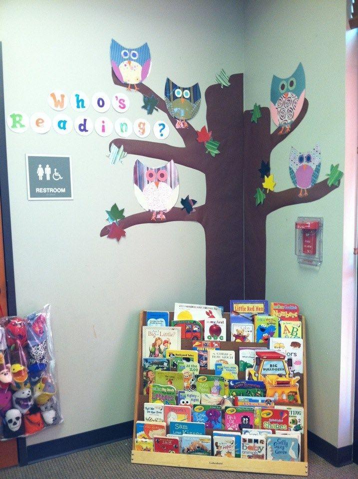 Reading Classroom Decor ~ Classroom bulletin board owls who s reading owl