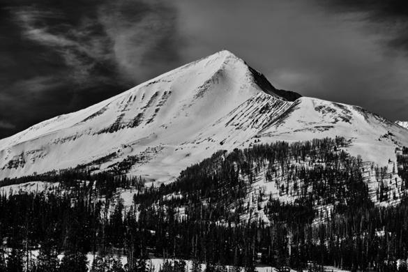 What a great photo of Lone Peak! RT @adriansgphoto Lone Peak #BigSkyResort #skiing #Montana #latergram