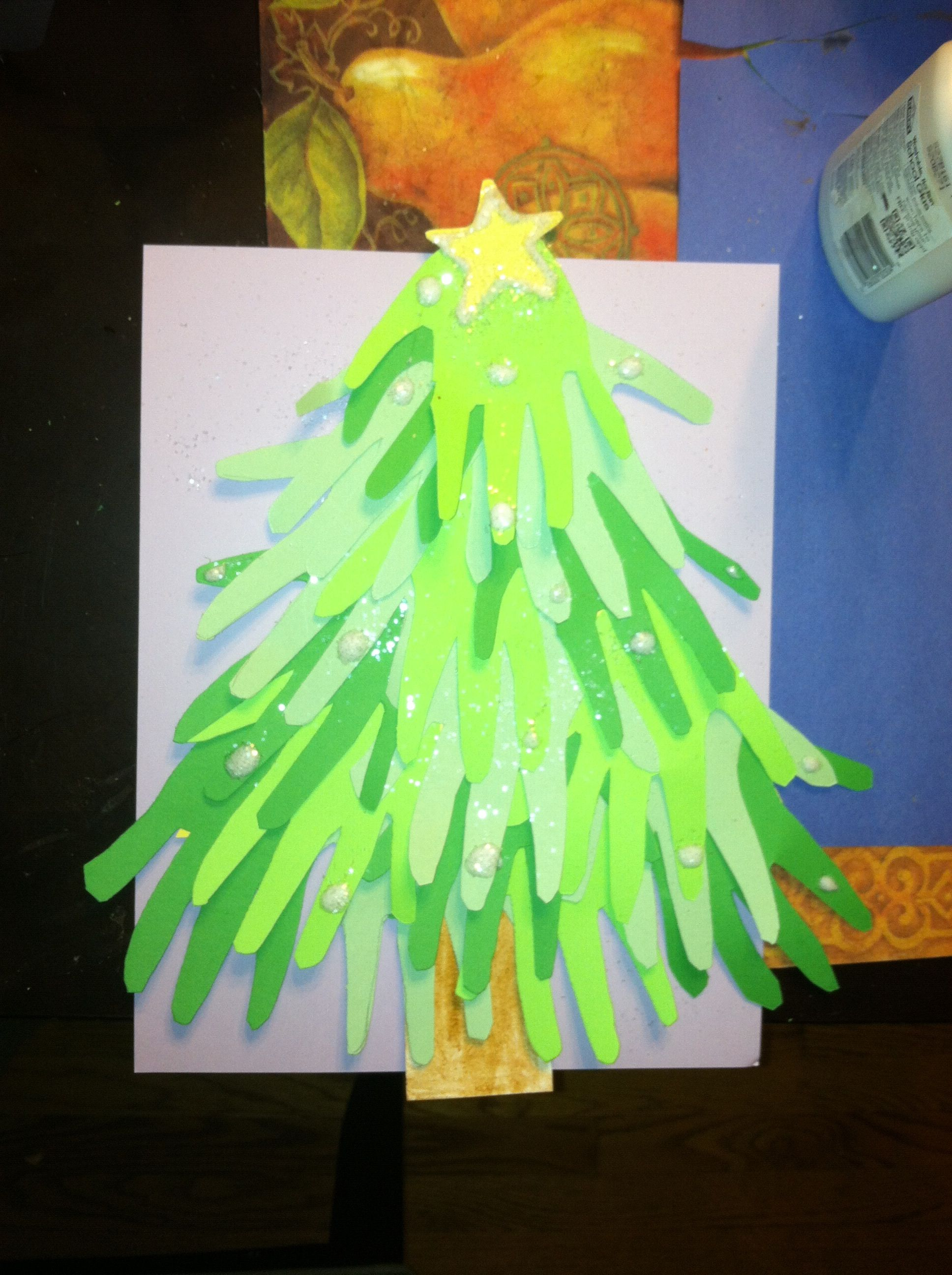 Kid Craft Easy And Fun Hand Christmas Tree All You