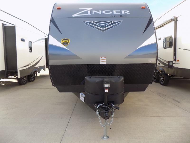 New 2018 Crossroads Rv Zinger Zr229rb Travel Trailer At Pontiac Rv