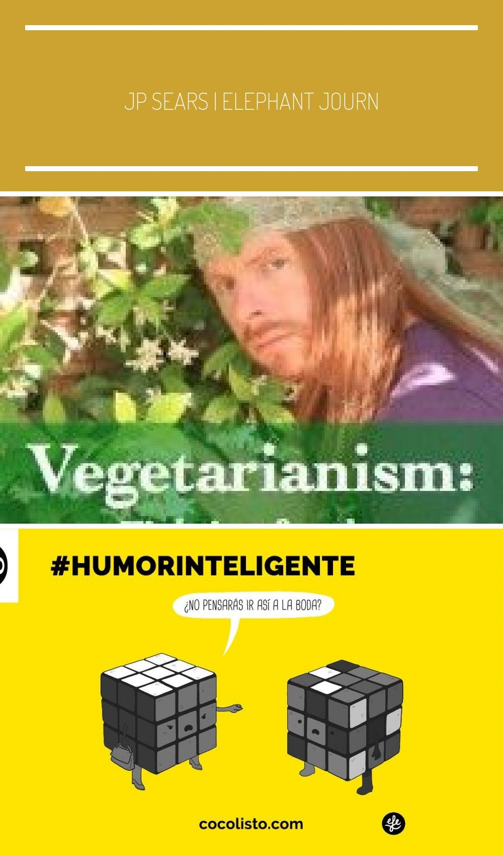 JP Sears  Elephant Journal So much great information presented in such an enter  humor inteligente  inteligente inteligente inteligente