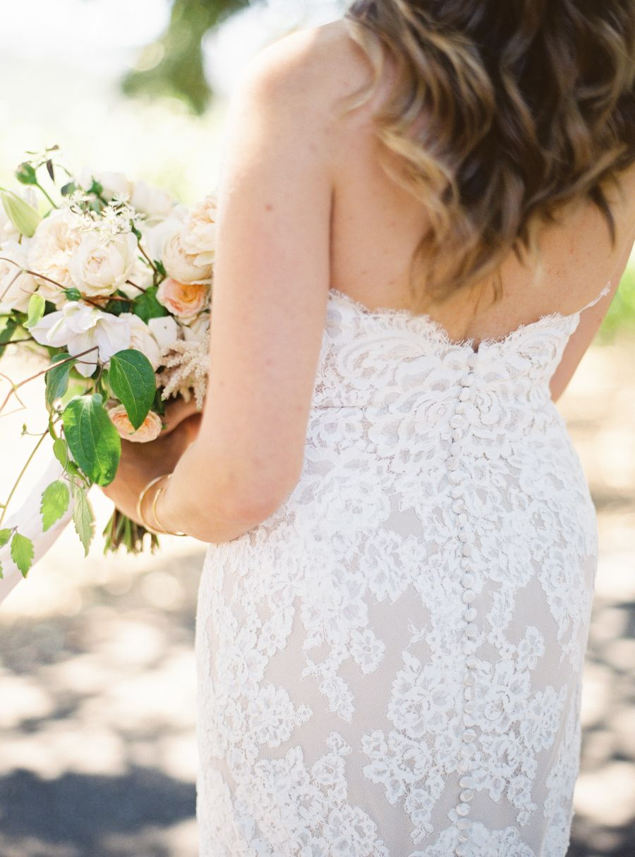 Photography : Jessica Burke | Floral Design : Chestnut & Vine Floral Design Read More on SMP: http://www.stylemepretty.com/2017/02/02/childhood-friends-turned-soulmates-wed-in-wine-country/