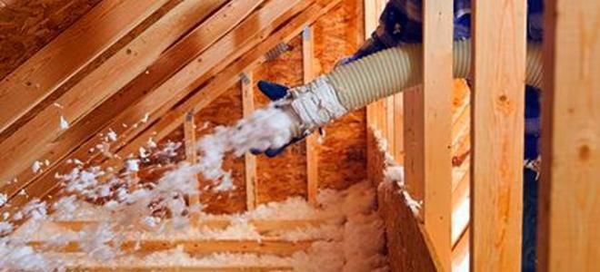 How To Remove Loose Fill Attic Insulation Attic Insulation Blown In Insulation Attic Renovation