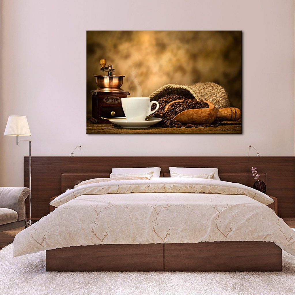 Coffee In Making Multi Panel Canvas Wall Art By ElephantStock Will  Complement Any Type Of Room