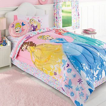 Disney Princess Reversible Comforter With Images Disney Princess Bedding Princess Bedding Set Princess Bed