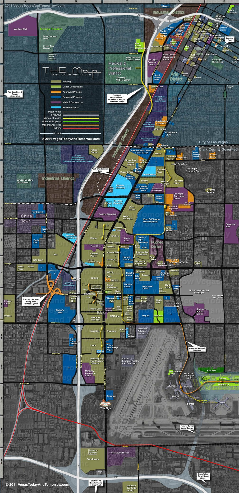 Las Vegas Map In 2019