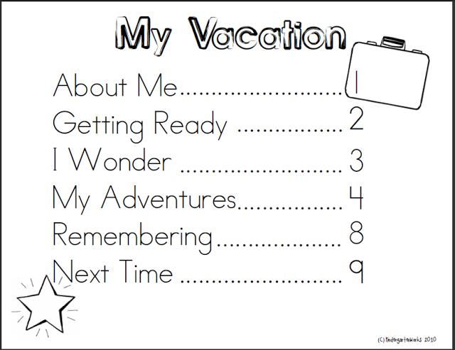 Instant Homework Vacation Memory Book Kids Travel Journal Disney Travel Journal Vacation Journal