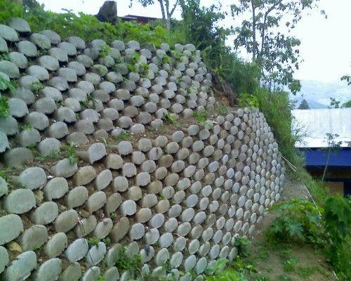 Muro de contenci n ecol gico buscar con google muros - Muros de contencion de piedra ...