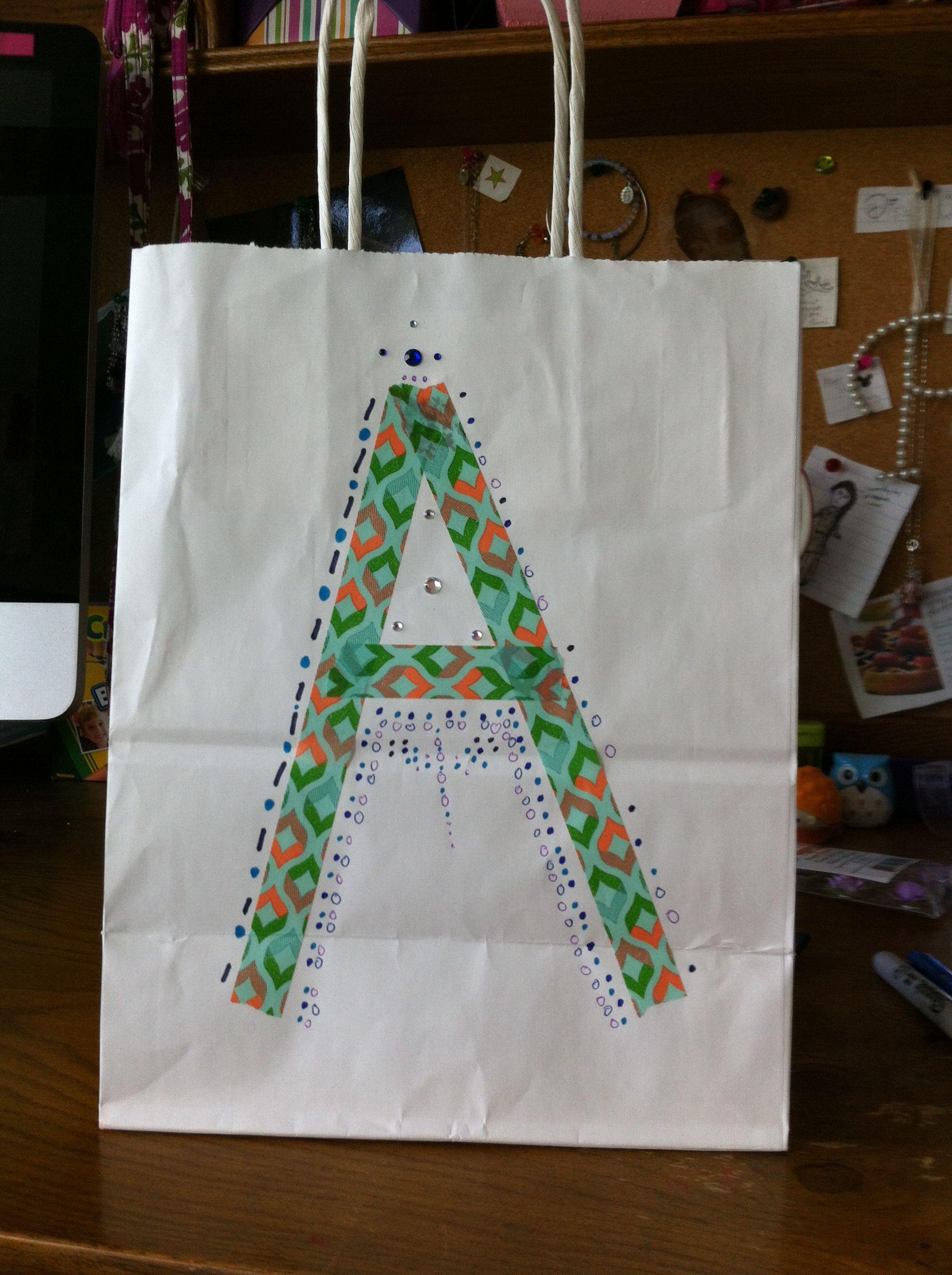 Cute DIY A gift bag