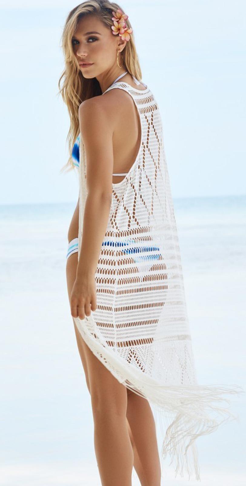 8e52b3c423 Beach Bunny Desert Dreamer Duster Long Cover Up   Bridal Resort Wear ...