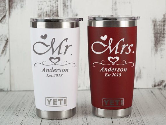 Personalized Yeti Cooler Monogrammed Yeti Colster 12 Oz Yeti Can