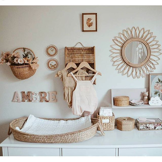 Photo of Nyla Changing Basket –   – #Baby #babygirl #BabyThings #Basket #Changing
