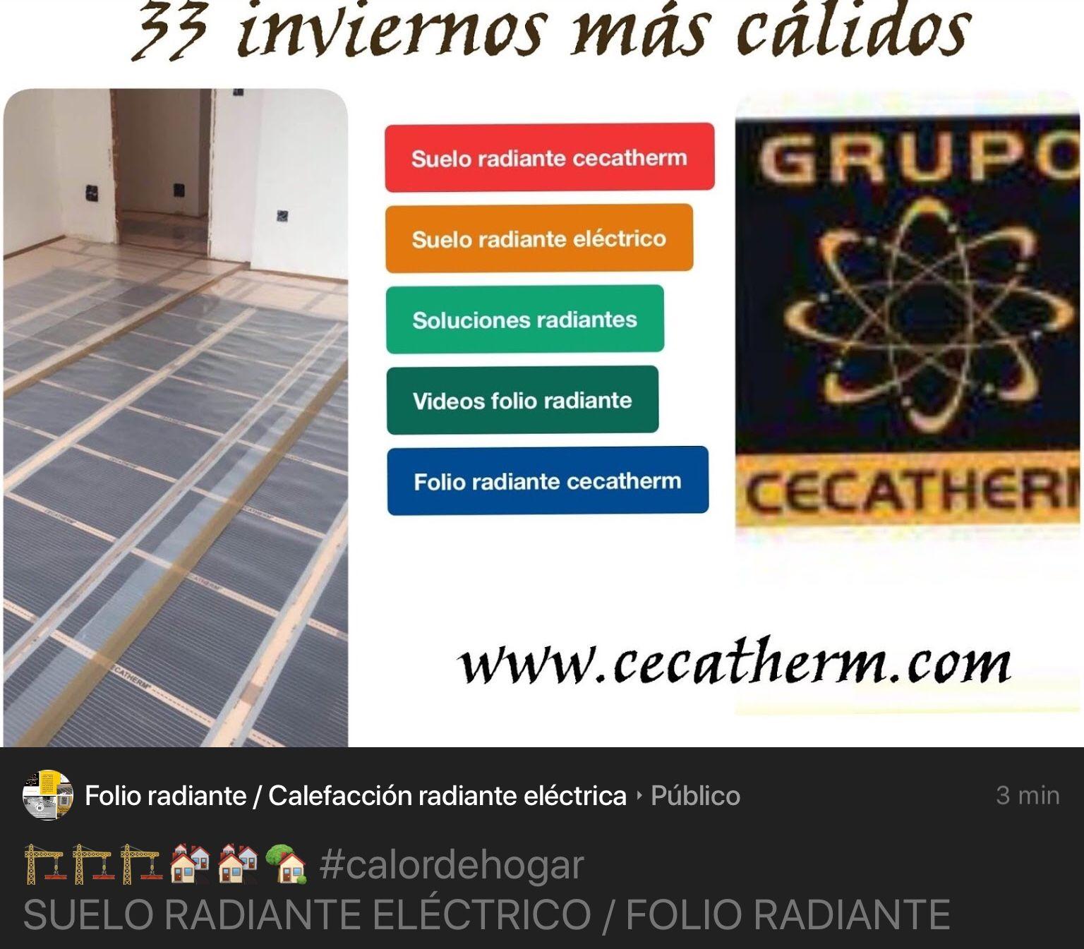 Calefaccion suelo radiante electrico best calefaccin por suelo radiante ahorra hasta un en tus - Folio radiante electrico ...