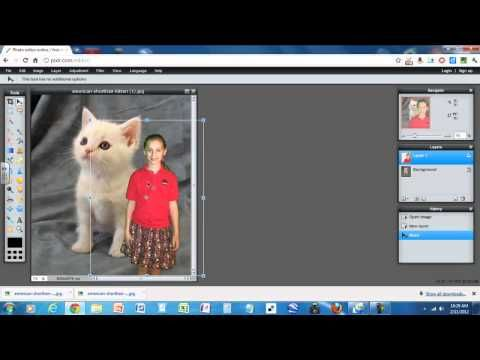 Superimpose A Photo Using Pixlr Youtube With Images Pixlr