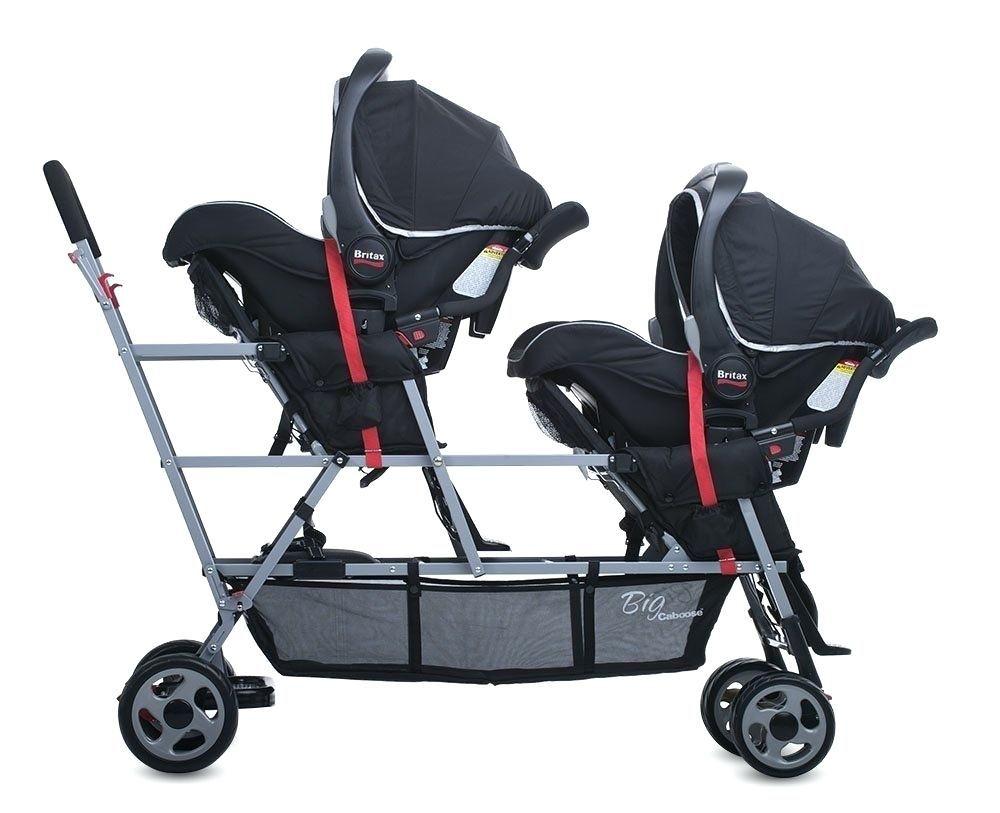 Stubenwagen kinderwagen joovy big caboose stand auf triple stroller