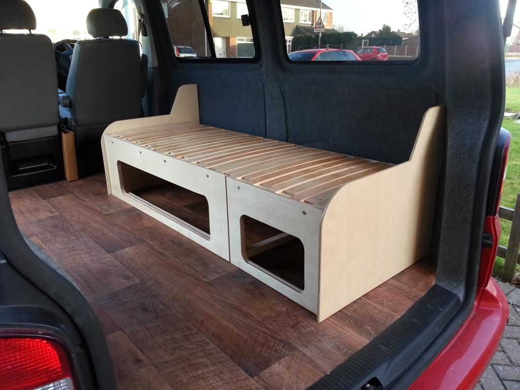 Alternative Layout Diy Build Vw T4 Forum Vw T5 Forum Campervan Bed Campervan Interior Diy Camper