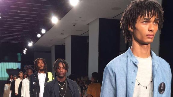 This Fashion Week show celebrated the beauty of dreadlocks