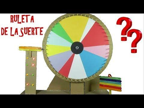 269e59c830ce COMO hacer una ruleta de cartón.Fazendo um cartão roulette - YouTube ...