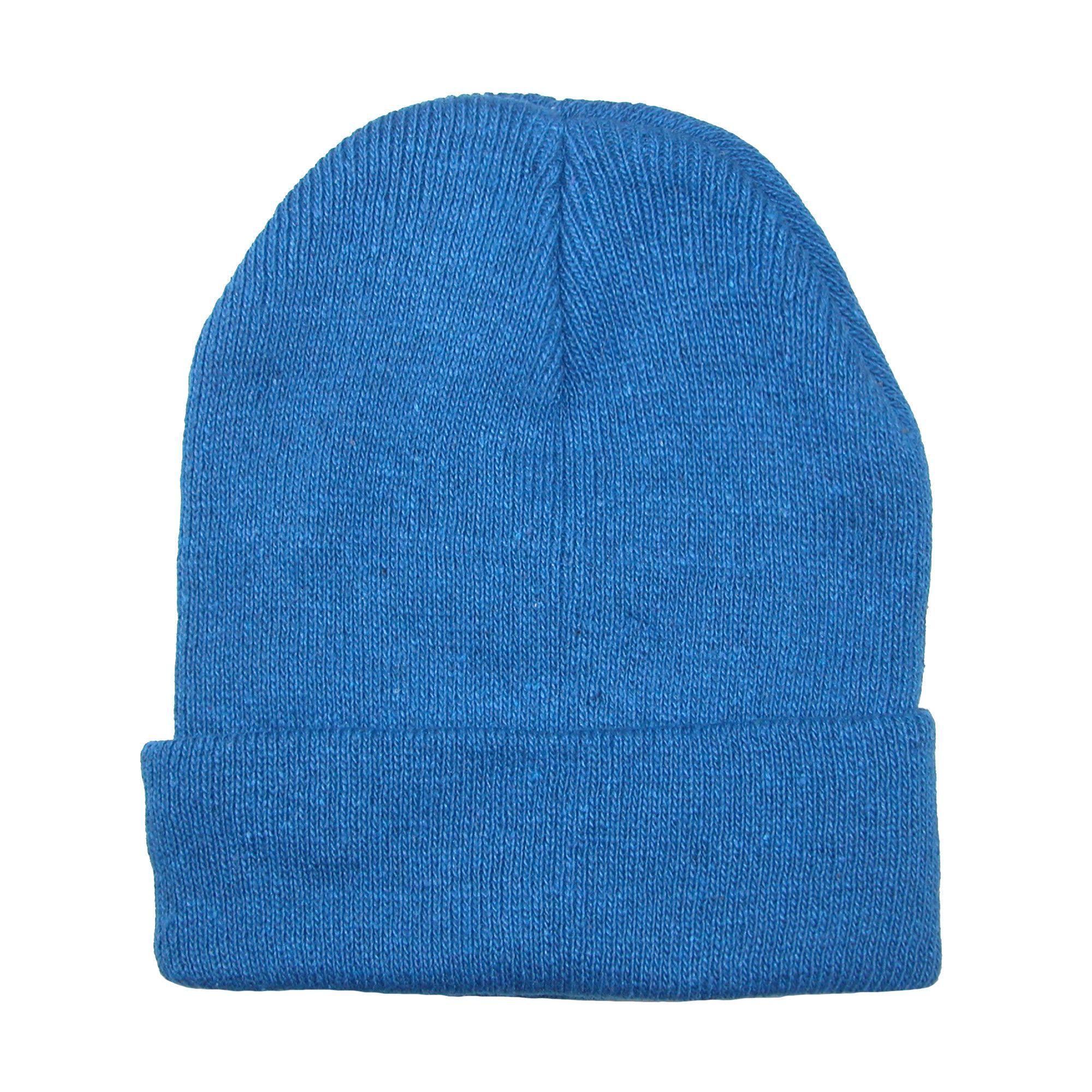CTM Kids' Knit Winter Cuff Stocking Cap