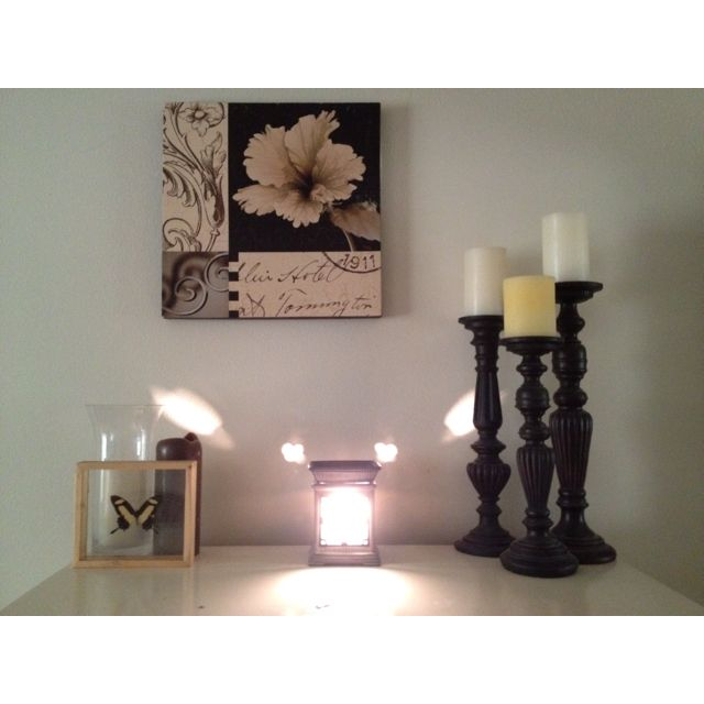 My minimalist approach to interior expression :) | Candle ...