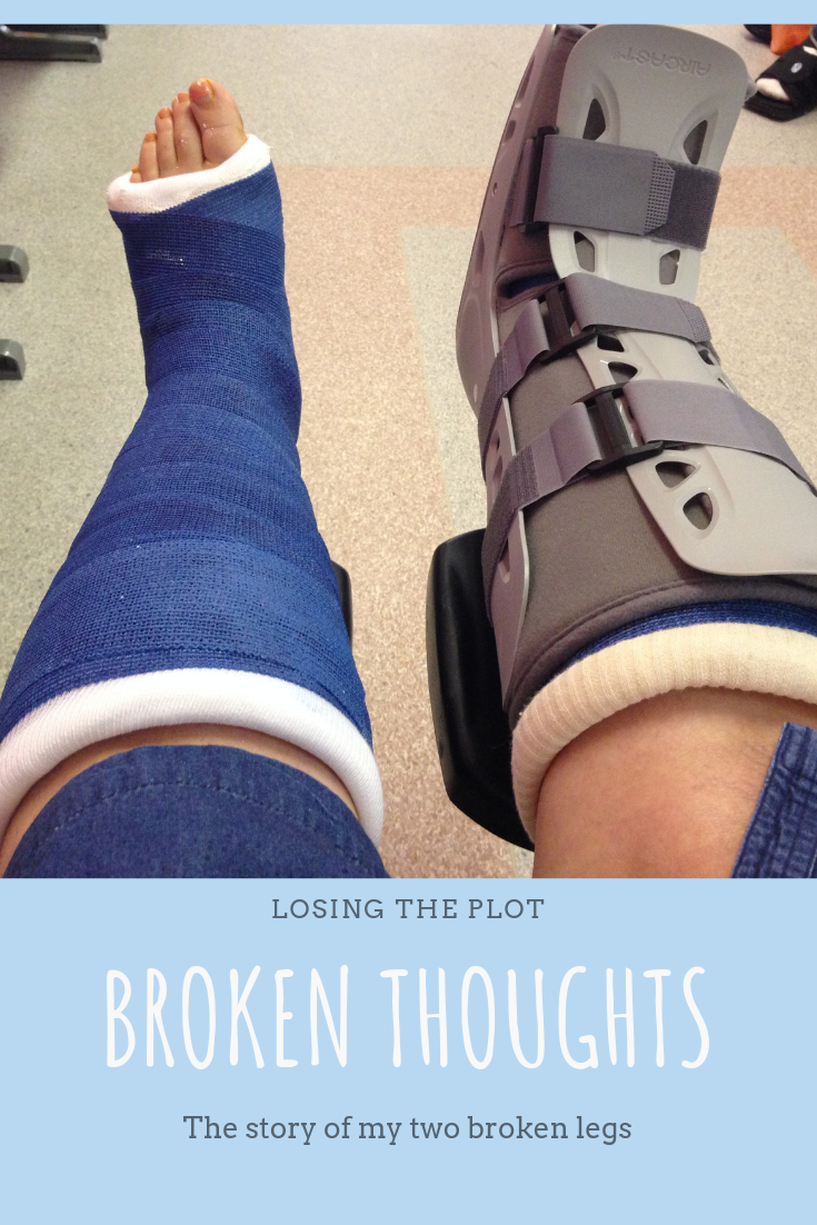 This is how I broke both of my legs, and what happened next