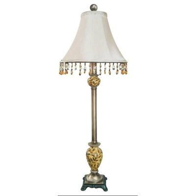 (CLICK IMAGE TWICE FOR UPDATED PRICING AND INFO) #home #homelighting #homeimprovement #homedecor #lighting #lamps #lights #lightandfixture #buffetlamp  see more lamps at http://www.zbrands.com/Lamps-C40.aspx -  Fangio Lamps - Resin Buffet Lamp with a Hand Painted Font