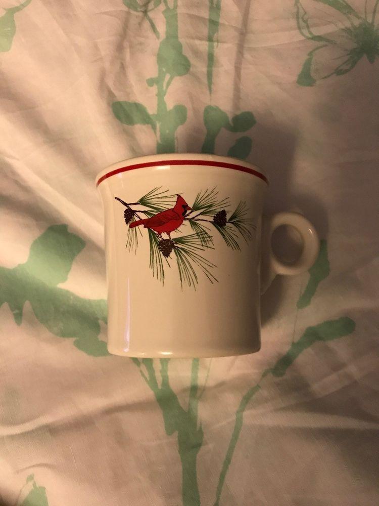 Details about Fiesta ware Twelve Days Of Christmas Mug 1 partridge