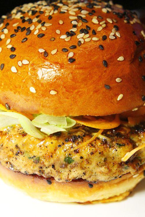 Damnation Chicken Burger at Gordon Ramsay's BurGR at Planet Hollywood.
