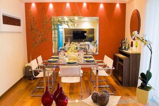 Cocina naranja pinterest comedores decoracion for Living comedor chico decoracion