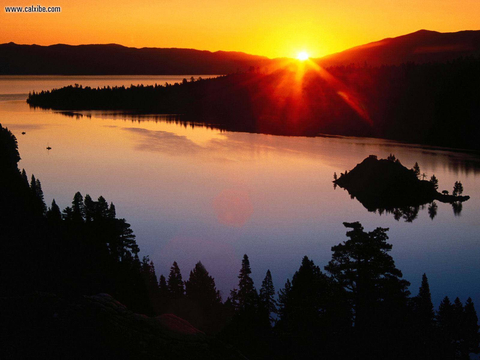 Lake tahoe sunset travel channel pinterest - Beautiful Lake Tahoe