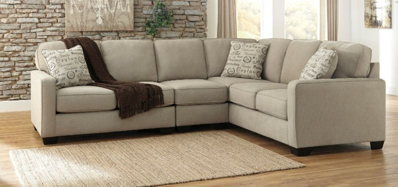 Ashley Furniture 16600 55 46 67 3 Pc Alenya Quartz Soft Textured