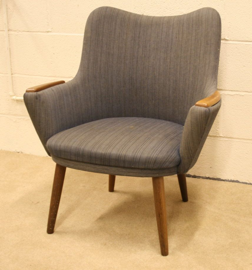 Nice Cute Danish 60s Small Armchair Looking For A Good Home