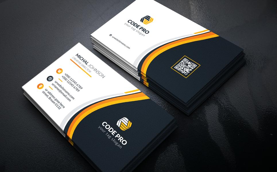 Plumbing Creative Business Card Corporate Identity Template Business Cards Corporate Identity Business Cards Creative Plumbing Logo