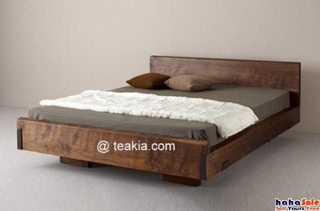 High Quality Teak Bedroom Set At Teakia Ampang Ampang Wooden Bed Design Wood Bed Design Rustic Wood Bed