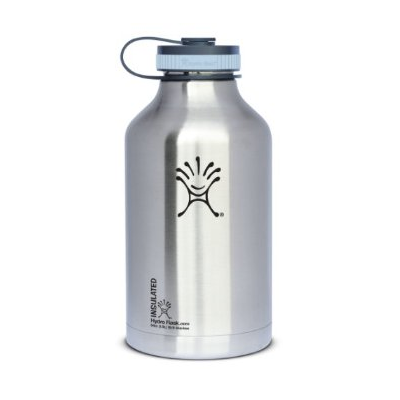 This sexy double walled stainless steel 64 oz growler will keep your beer colder, longer than any glass growler.