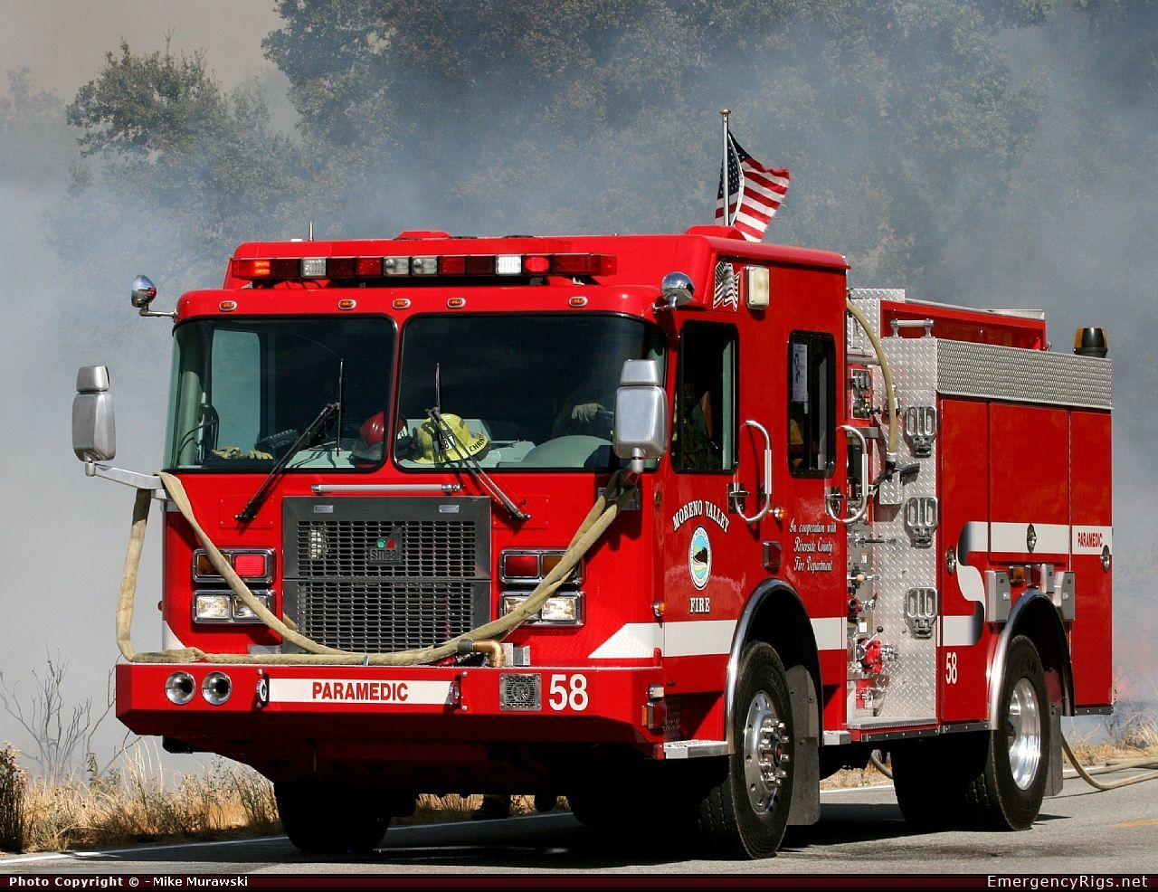 Engine 58 Riverside County Fire Department http//www