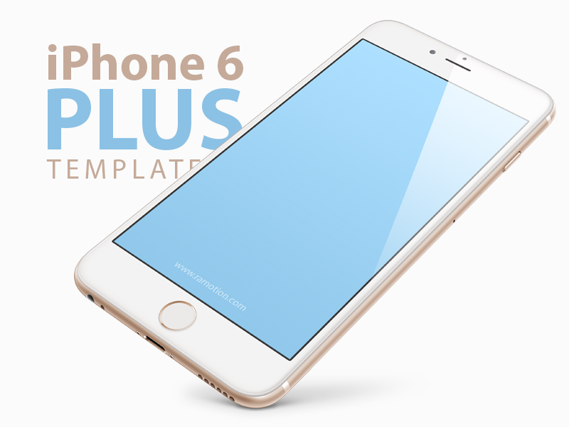 Iphone 6 Plus Template Mockup Psd Free Iphone 6 Plus Free Iphone 6 Iphone 6 Plus