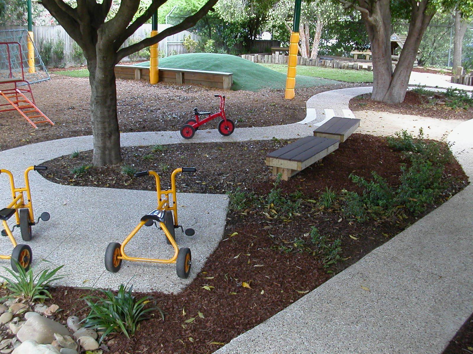 Preschool playgrounds google search natural for Kindergarten playground design
