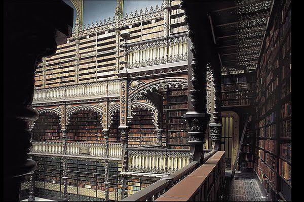 O Mundo que nos Rodeia: As mais belas Bibliotecas do Mundo: BIBLIOTECA REAL GABINETE PORTUGUÊS DE LEITURA, RIO DE JANEIRO, BRASIL