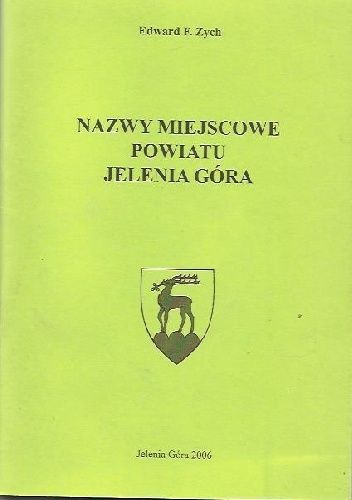 Okladka Ksiazki Nazwy Miejscowe Powiatu Jelenia Gora Movie Posters Movies Poster